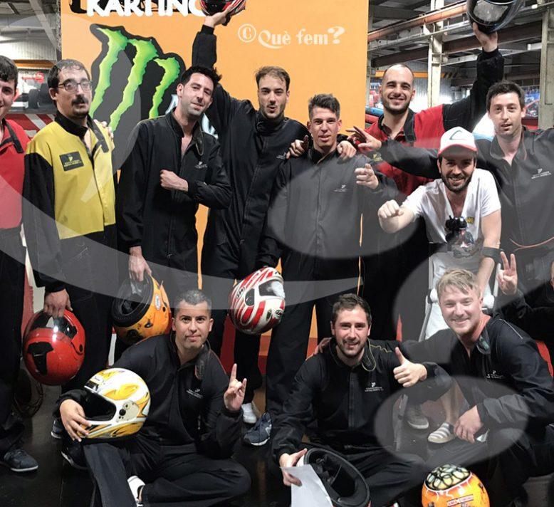 Karting en Lleida para despedidas de soltera y soltero